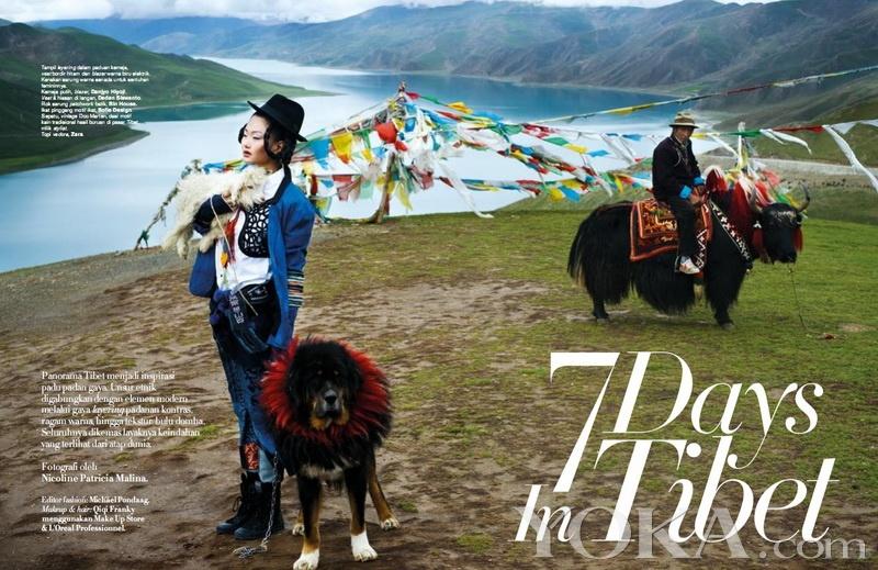 古老传统的西藏文明与现代时尚的完美融合