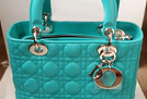 新色湖水绿Lady Dior