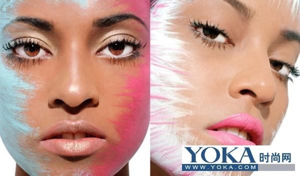 画腮红-圆脸女性的腮红技巧-立即见效 9大彩妆技巧变身瓜子脸 3