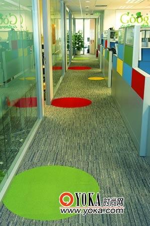 安静的办公区域。