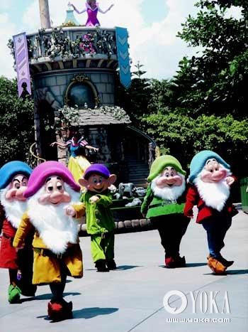 七个小矮人也是迪士尼动画中的经典人物。
