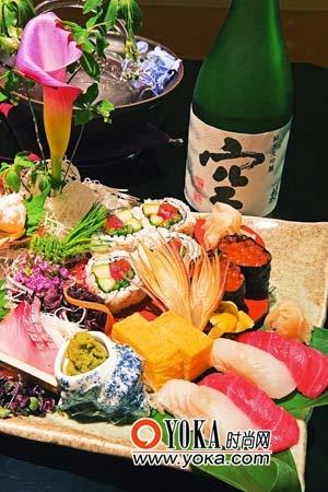 美味的日式料理让人食指大动。