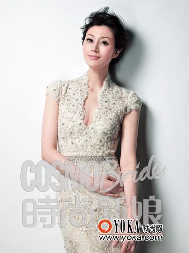 李嘉欣登时尚杂志 新娘佳人难掩贵妇气质 - 照